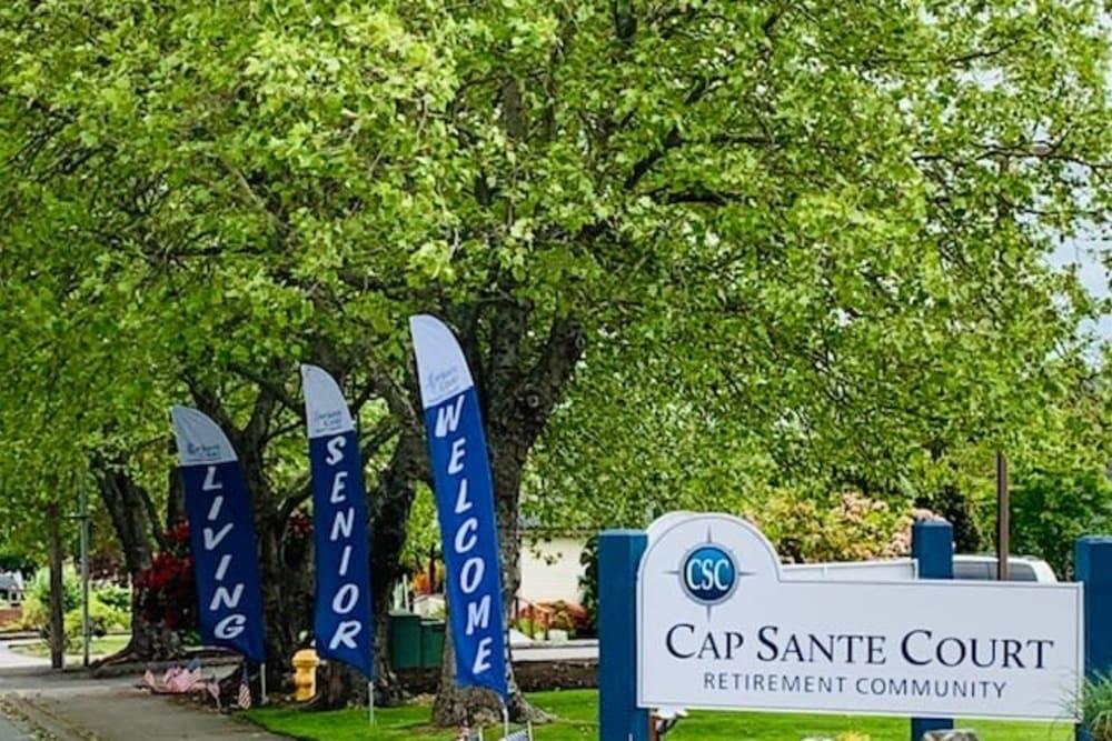 exterior view of Cap Sante Court Retirement Community