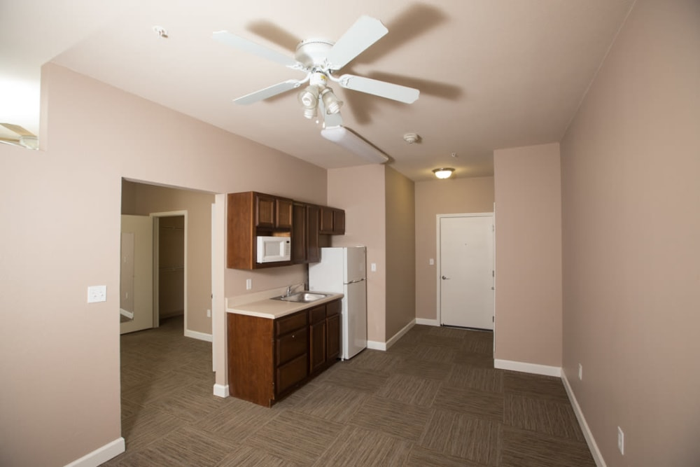 Interior apartment at FountainBrook in Midwest City, Oklahoma