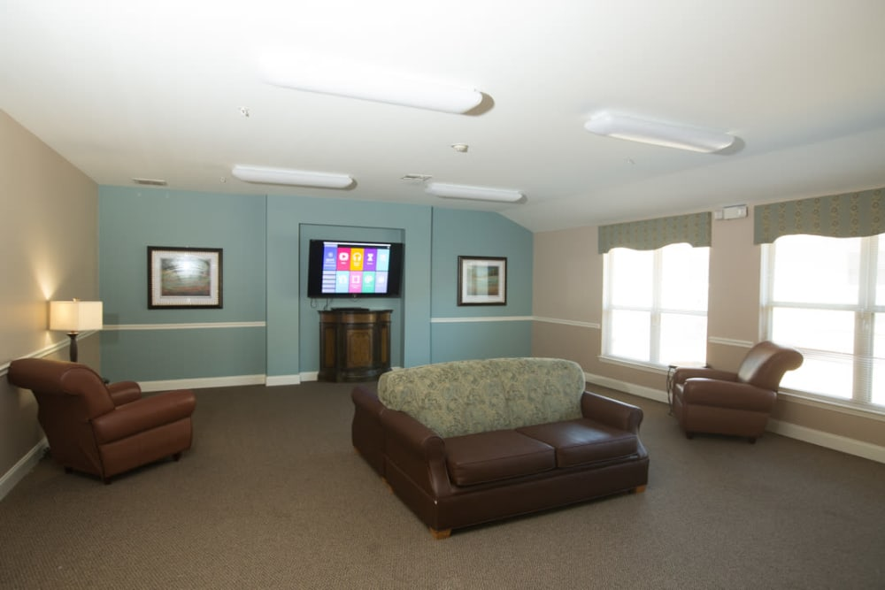 Theater room at FountainBrook in Midwest City, Oklahoma