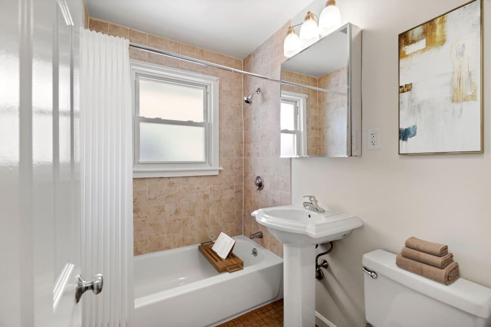 Bathroom at The Fairways in Worcester, Massachusetts
