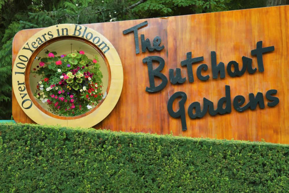 The Buchant Gardens near The Vista in Esquimalt, British Columbia
