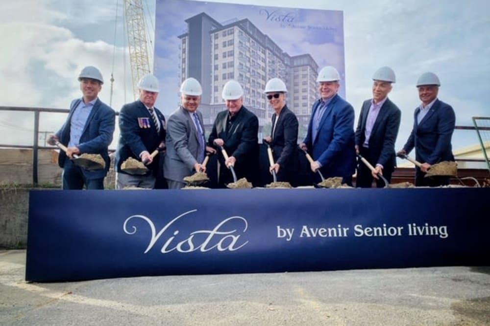 Construction team at The Vista in Esquimalt, British Columbia