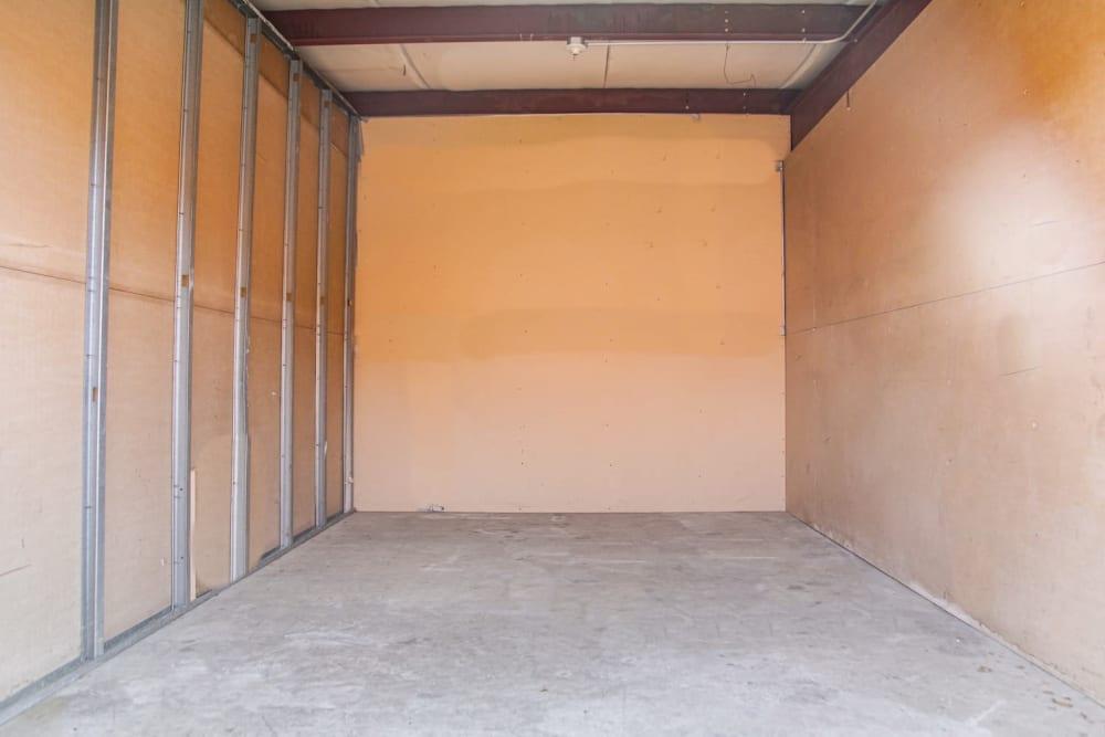Large storage units at Fort Knox Self Storage in Montgomery, Alabama.