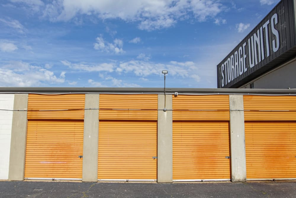 Variety of units at Fort Knox Self Storage in Montgomery, Alabama.