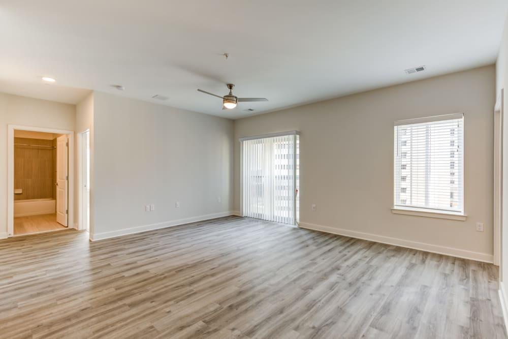 Hardwood floors at Main Street Apartments in Rockville, Maryland