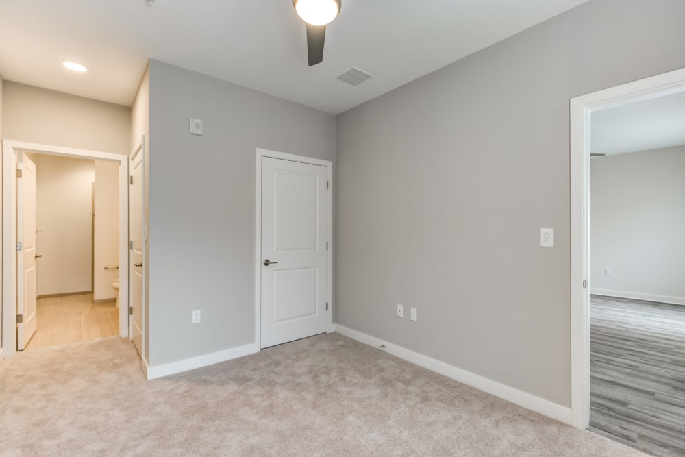 Apartment entryway at Main Street Apartments in Rockville, Maryland