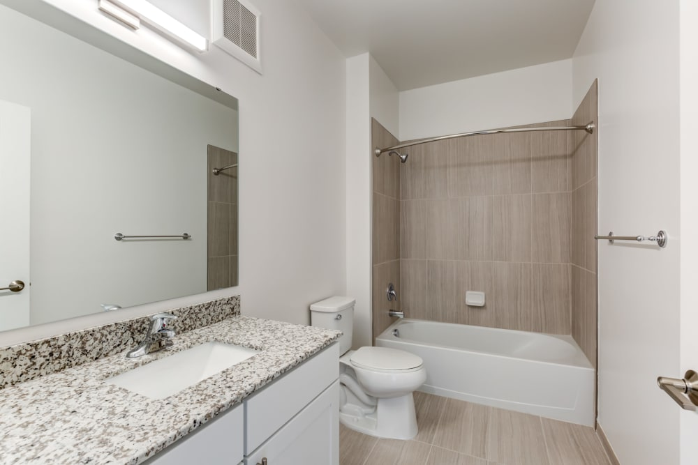 Bathroom at Main Street Apartments in Rockville, Maryland