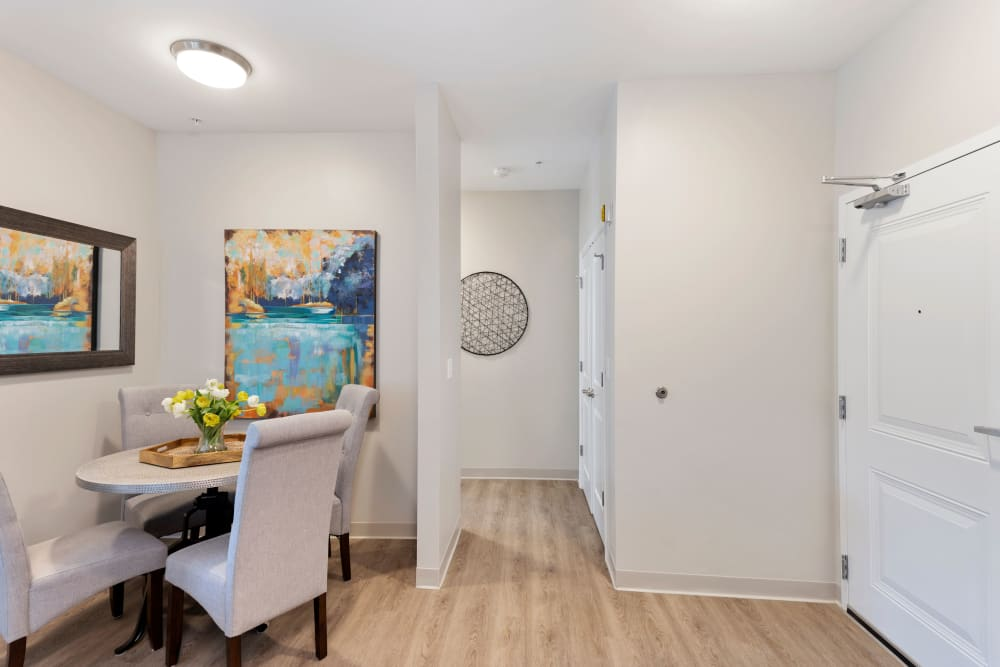 Open floor plans at The Apartments at Sharpe Square in Frederick, Maryland