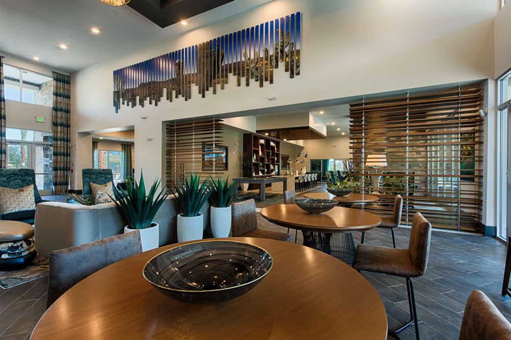 Ocio Plaza Del Rio's clubhouse in Peoria, Arizona