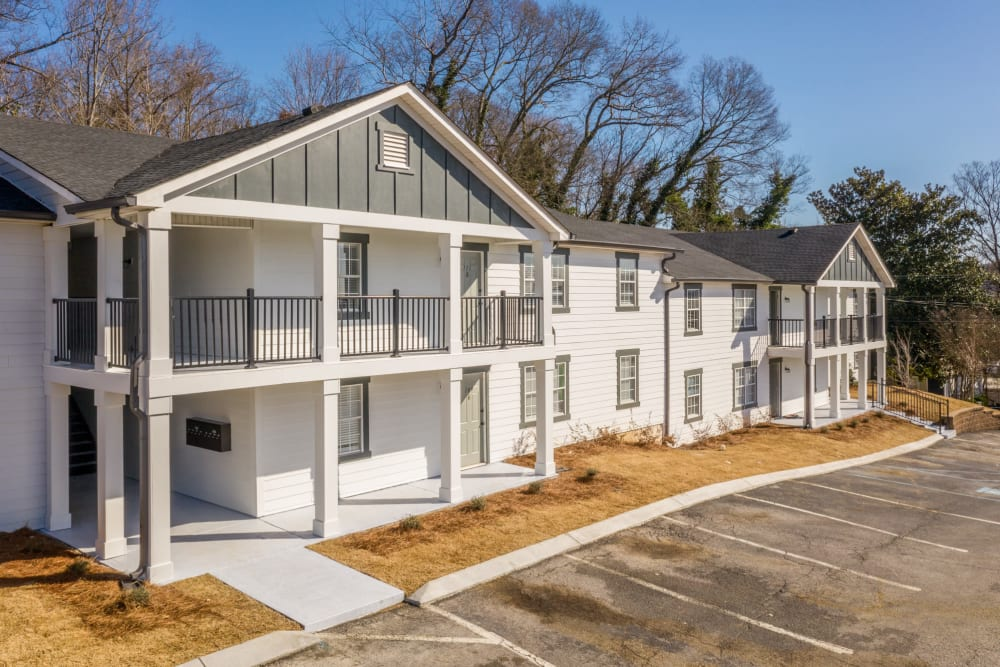 Apartment building at Callio Properties in Chattanooga, Tennessee