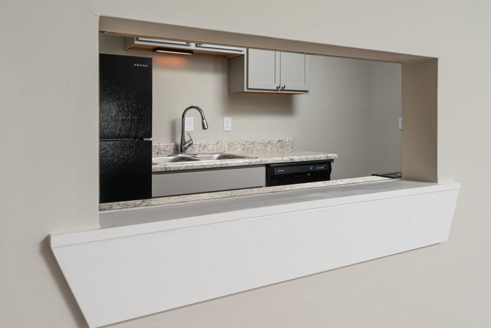 Modern kitchen at Callio Properties in Chattanooga, Tennessee