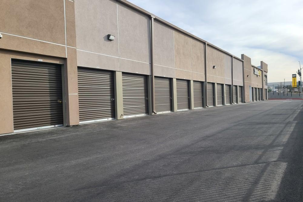 outdoor storage units at StorageOne Maryland Pkwy & Cactus in Las Vegas, Nevada