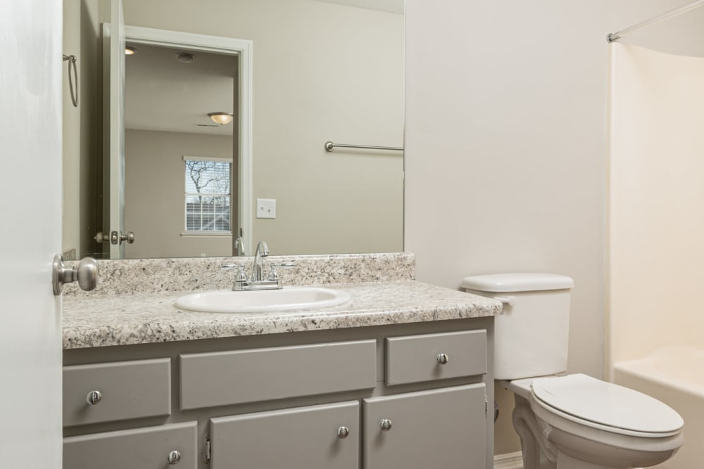 bathroom at Callio Properties in Chattanooga, Tennessee