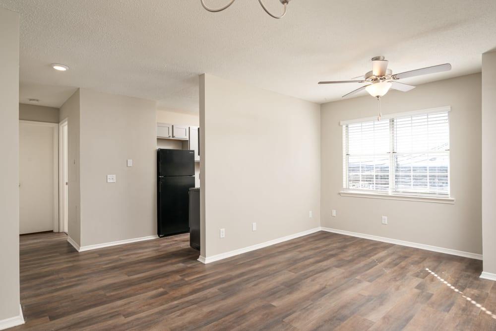 Spacious open floorplan at Callio Properties in Chattanooga, Tennessee