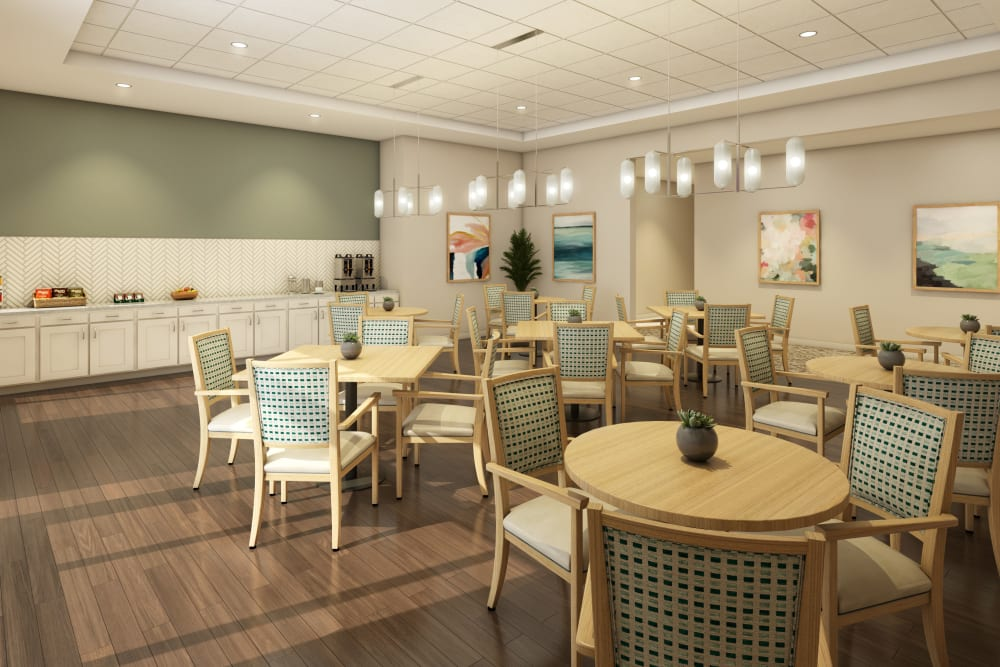 additional dining seating