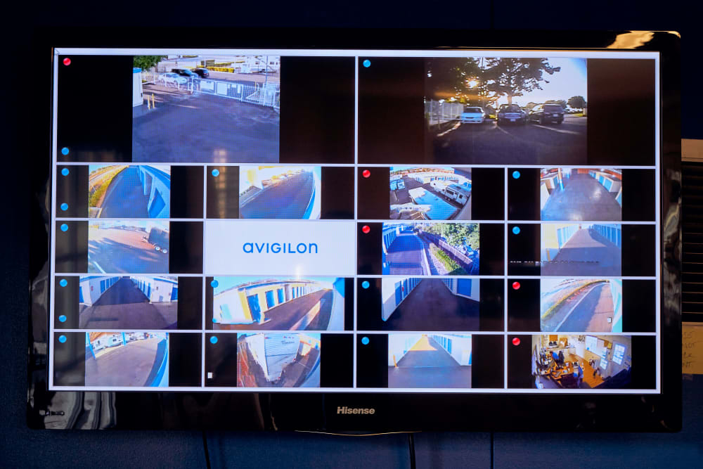 Security Cameras at Stor'em Self Storage in San Marcos, California