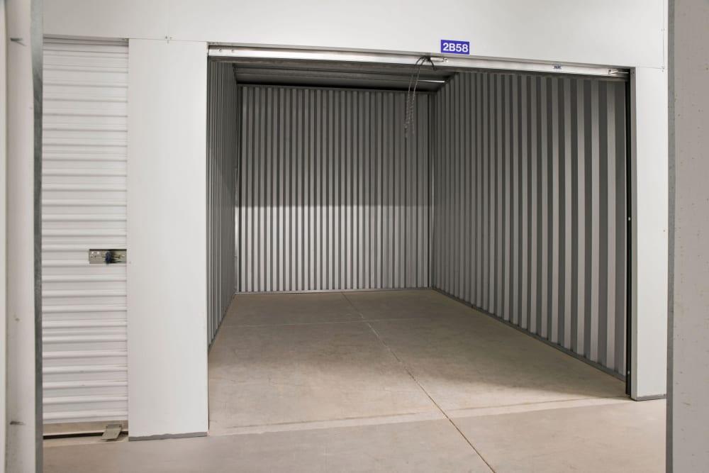Doorway to units at Stor'em Self Storage in Magna, Utah