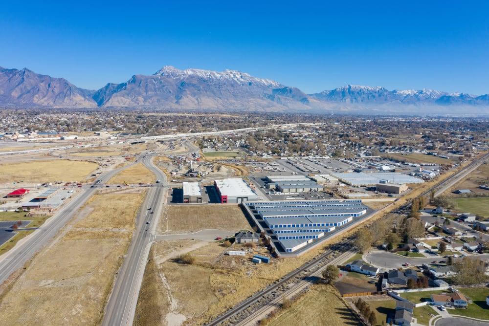 Third Aerial view of property at Stor'em Self Storage in Lehi, Utah