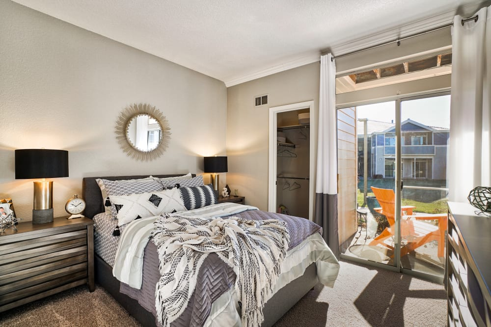 Bedroom at Pavilions at Silver Sage in Fort Collins, CO