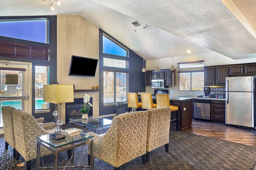 Clubhouse at Pavilions at Silver Sage in Fort Collins, CO