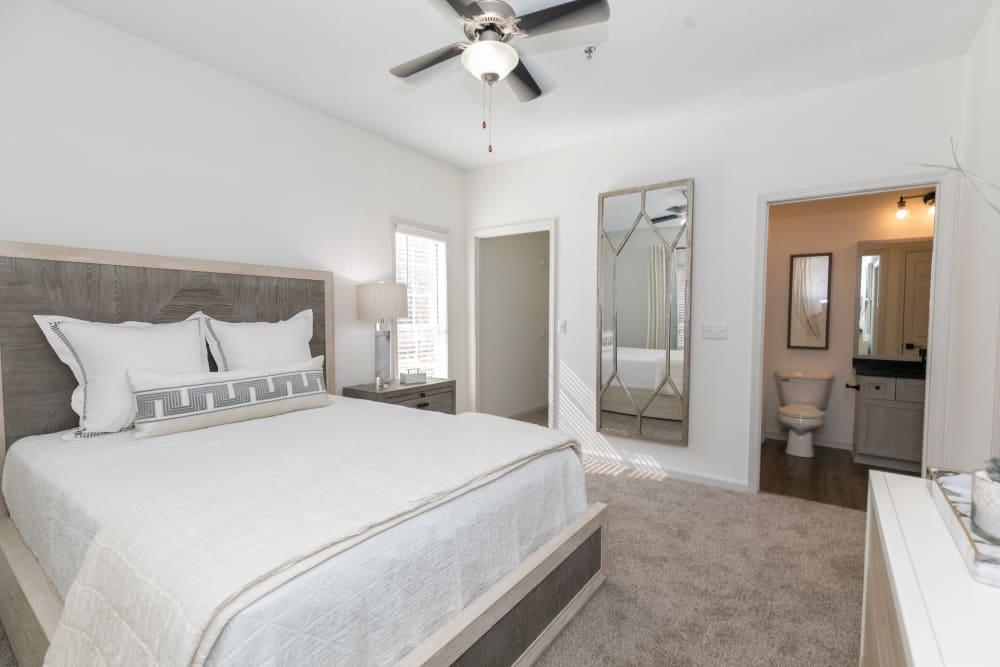 Bedroom at Highland Square in Atlanta, Georgia
