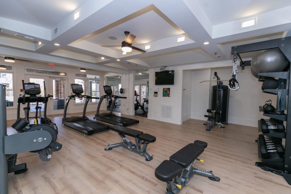 Fitness Center at Highland Square in Atlanta, Georgia