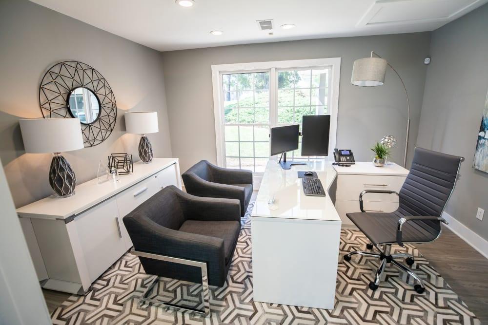 Leasing office at 200 Braehill in Winston-Salem, North Carolina