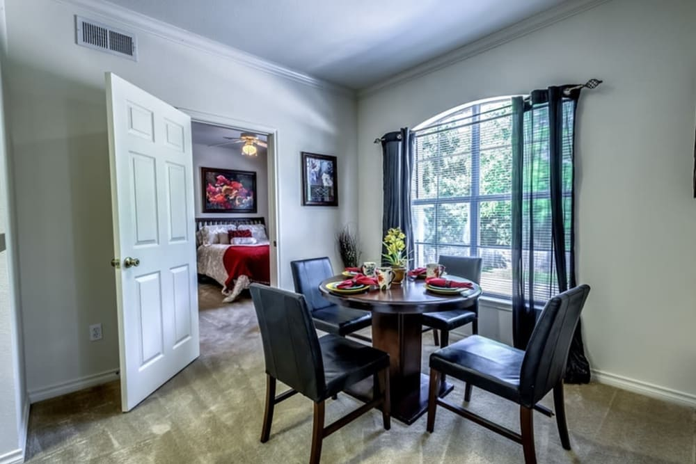 Living room at Audubon Lake Apartment Homes in Lafayette, Louisiana