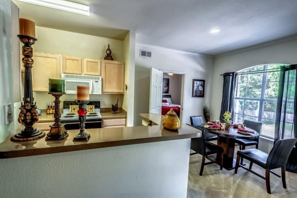 Spacious floor plan at Audubon Lake Apartment Homes in Lafayette, Louisiana