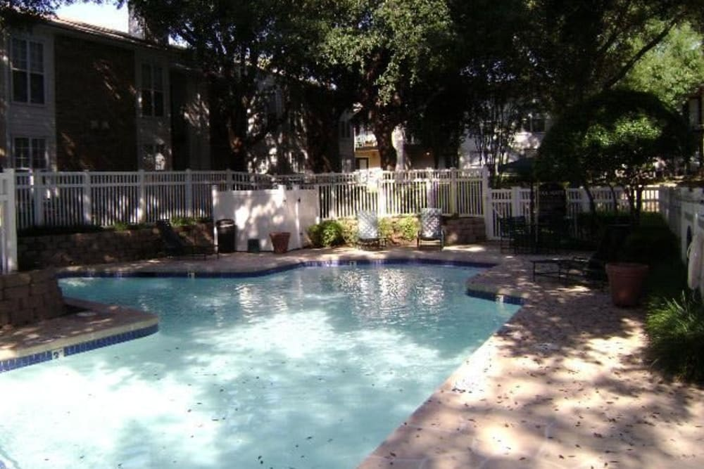Swimming pool at Grand Seasons Apartment Homes in Dallas, Texas