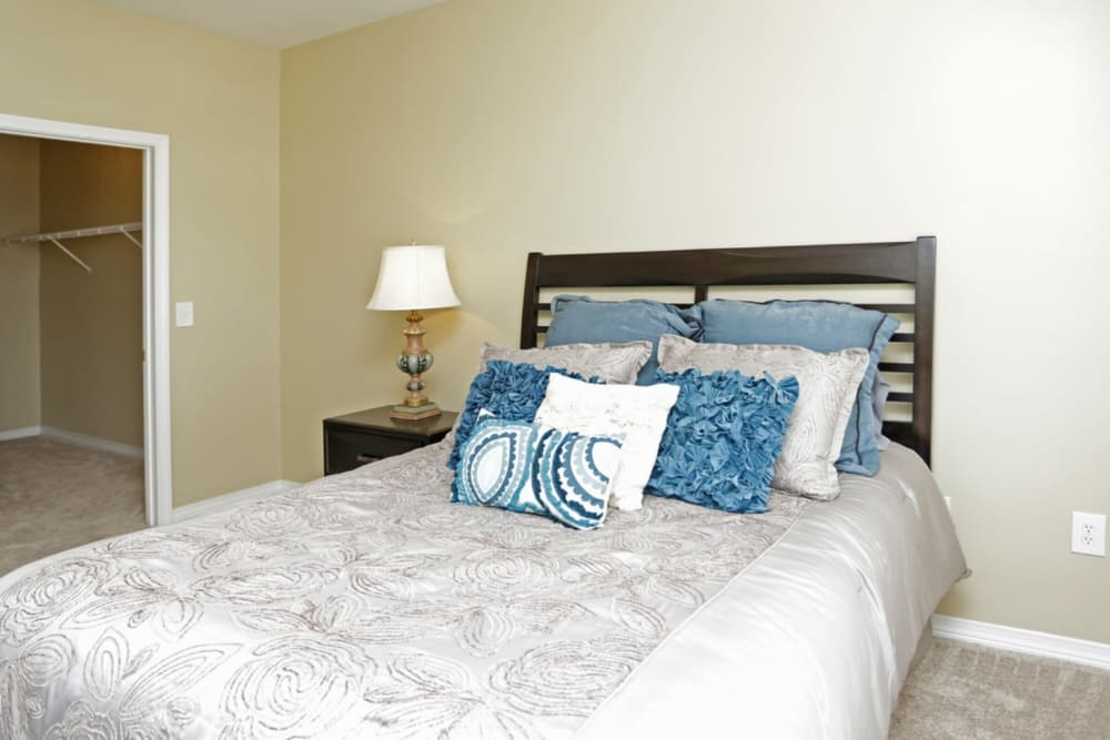 Bedroom at Harborside Apartment Homes in Slidell, Louisiana