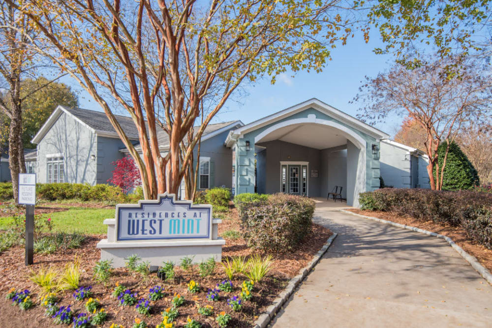 A beautifully manicure property at Residences at West Mint in Mint Hill, North Carolina