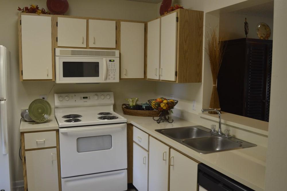 Kitchen at Savannah Place Apartments & Townhomes in Boca Raton, Florida