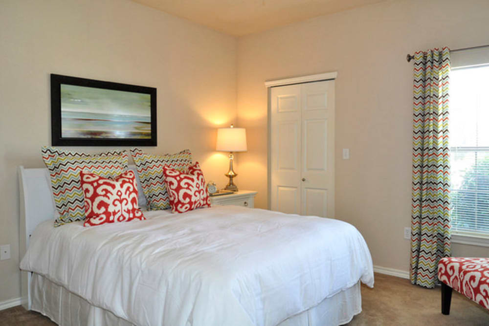 Bedroom at Stockwell Landing Apartment Homes in Bossier City, Louisiana