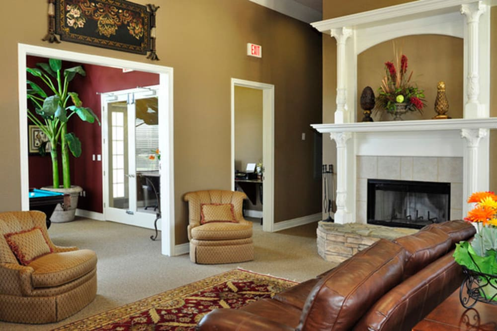 Clubhouse at Stockwell Landing Apartment Homes in Bossier City, Louisiana