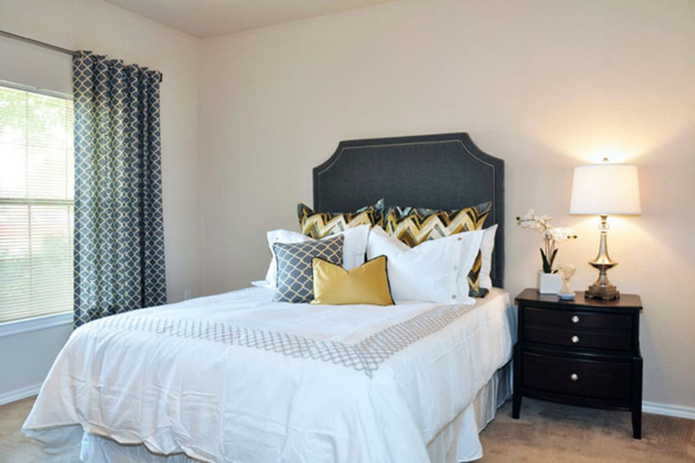Spacious bedroom at Stockwell Landing Apartment Homes in Bossier City, Louisiana