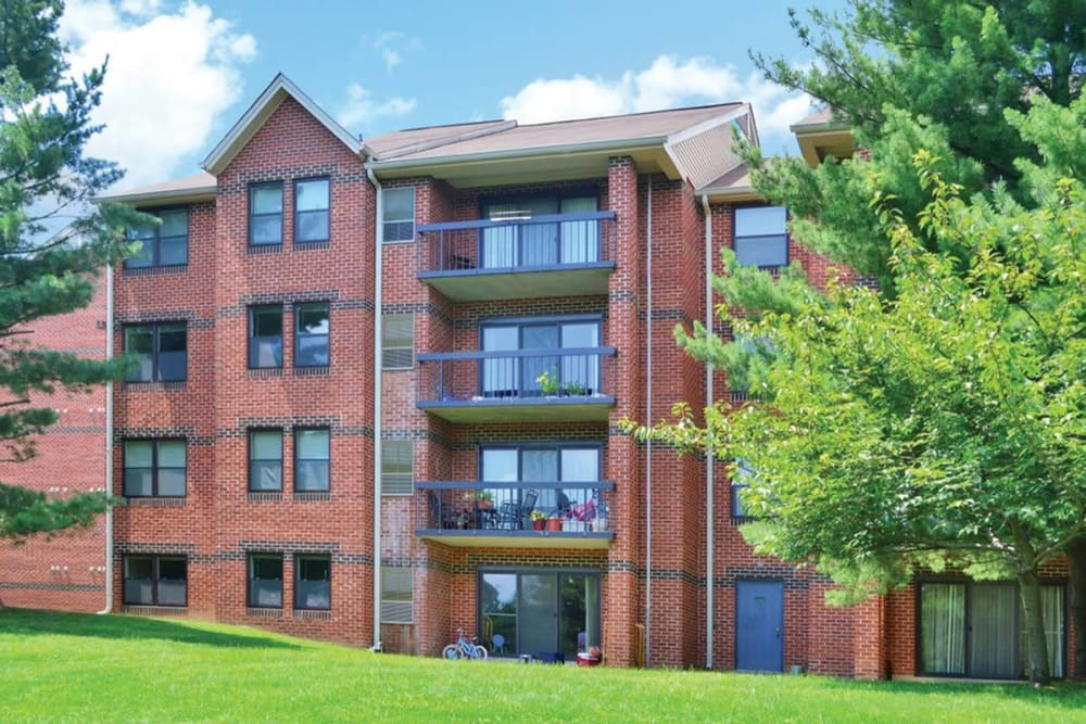 Building at Tamarron Apartment Homes in Olney, Maryland