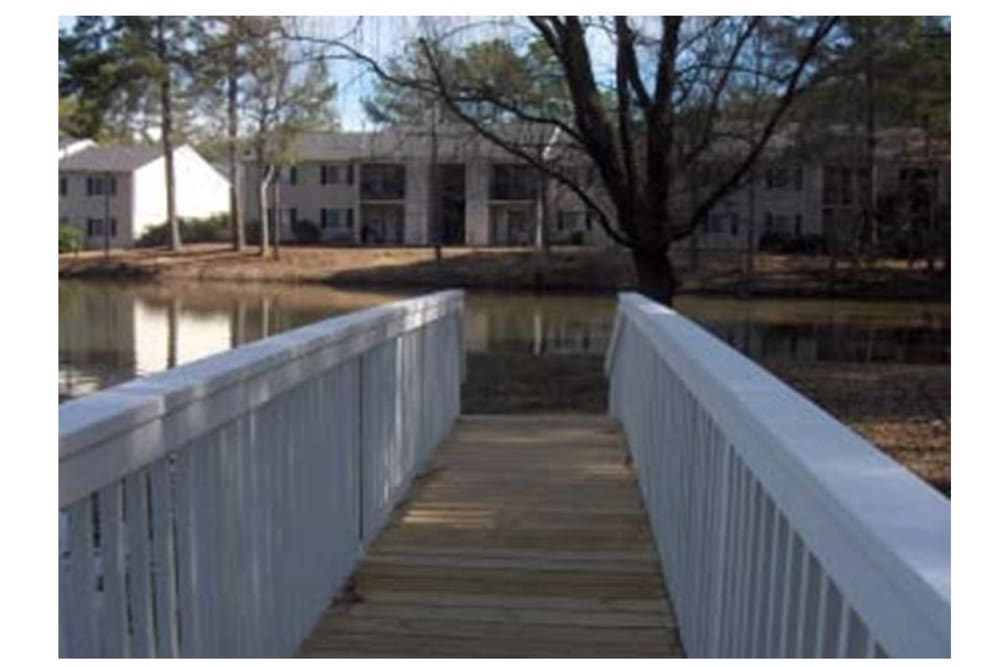 Bridge at Traditions at Augusta Apartment Homes in Augusta, Georgia