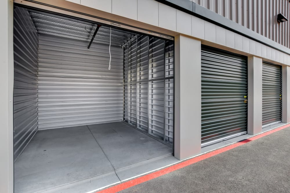 Exterior storage units at Towne Storage - Arville in Las Vegas, Nevada