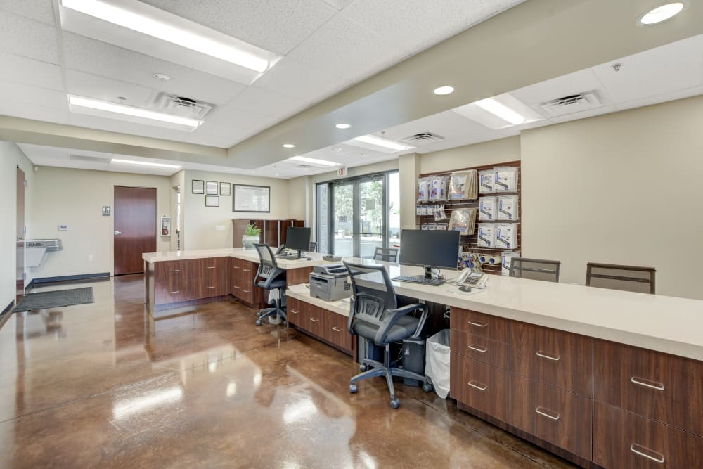 Front desk of Towne Storage - Arville in Las Vegas, Nevada