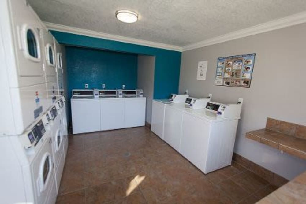 Community washers and dryers at Courtyards at Cedar Hills in Beaverton, OR