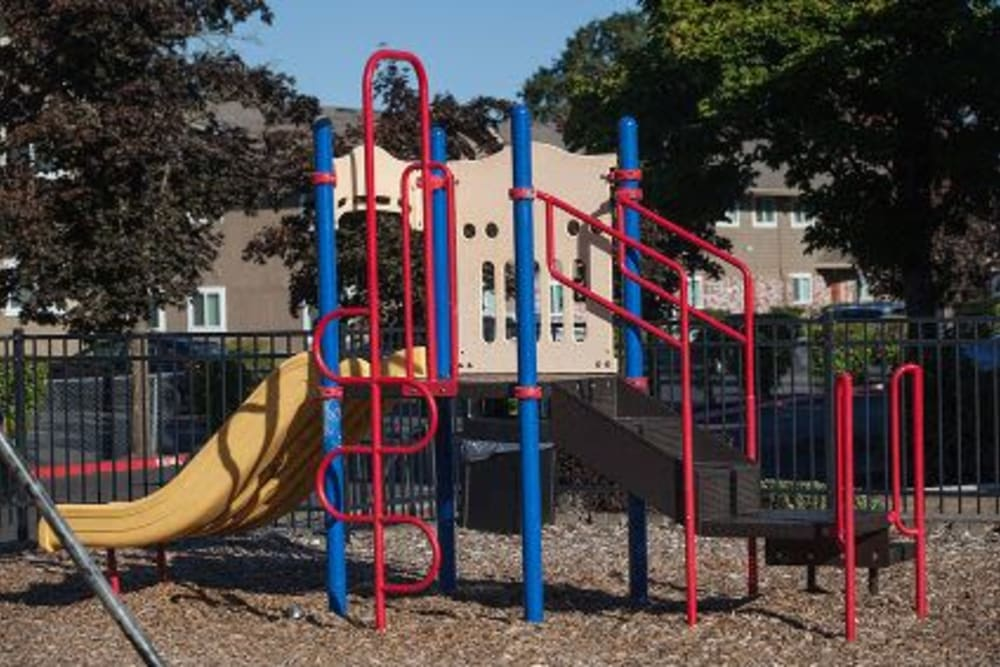 Kid's playground at Courtyards at Cedar Hills in Beaverton, OR