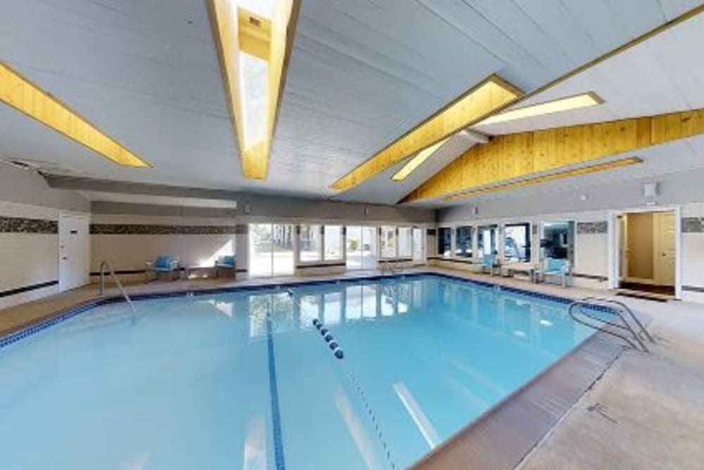 Sparkling pool at Courtyards at Cedar Hills in Beaverton, OR