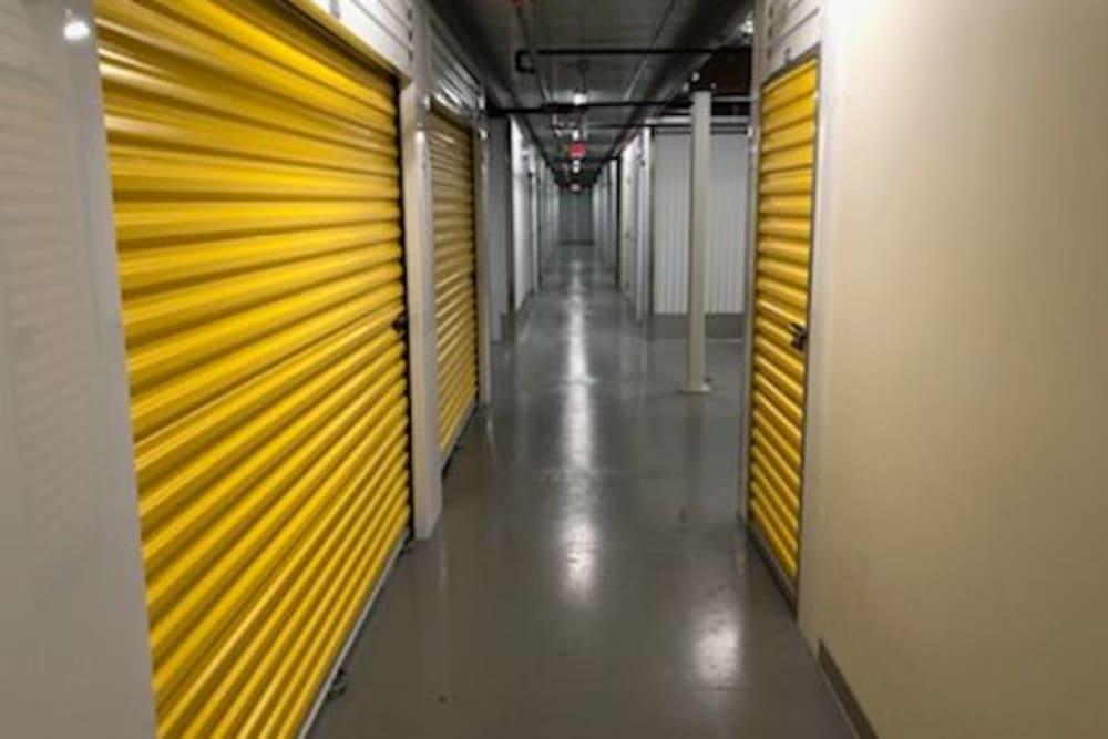 Indoor storage units at Storage 365 in St. Paul, Minnesota