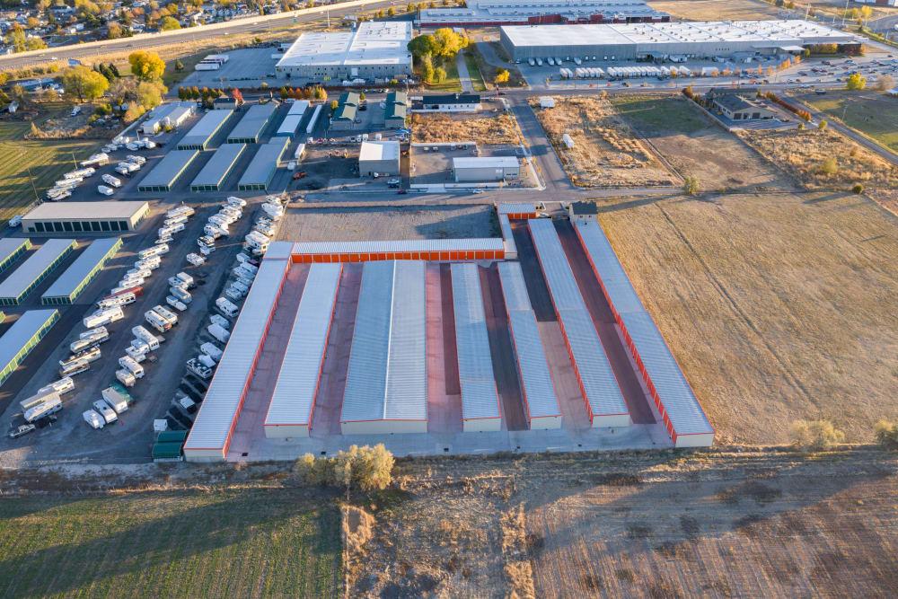 Aerial image of Stor'em Self Storage in Payson, Utah