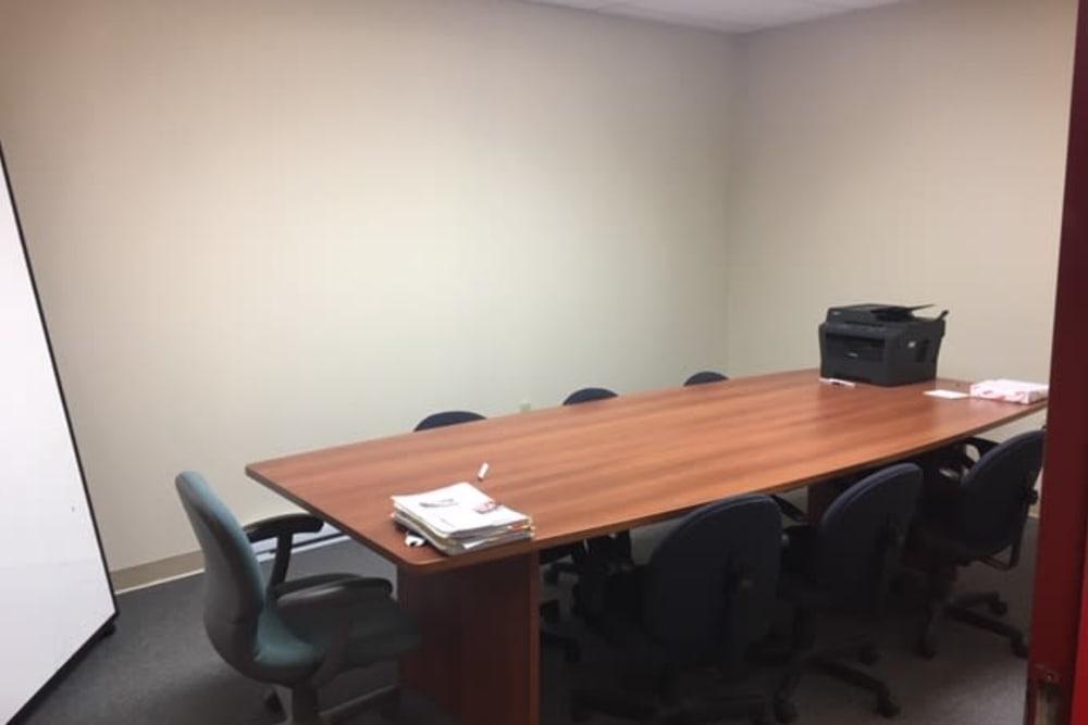 Meeting room at Apple Self Storage - Dartmouth in Dartmouth, Nova Scotia