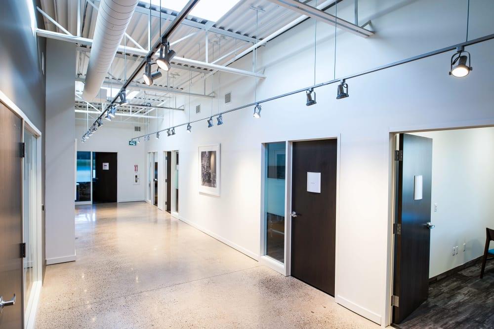 Hallway at Apple Self Storage - Oakville in Oakville, Ontario