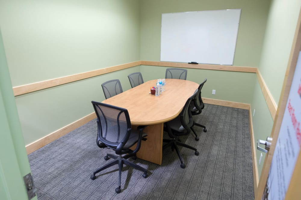 Conference room at Apple Self Storage - Toronto Downtown in Toronto, Ontario