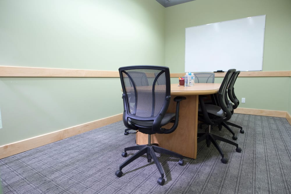 Bright conference room at Apple Self Storage - Toronto Downtown in Toronto, Ontario