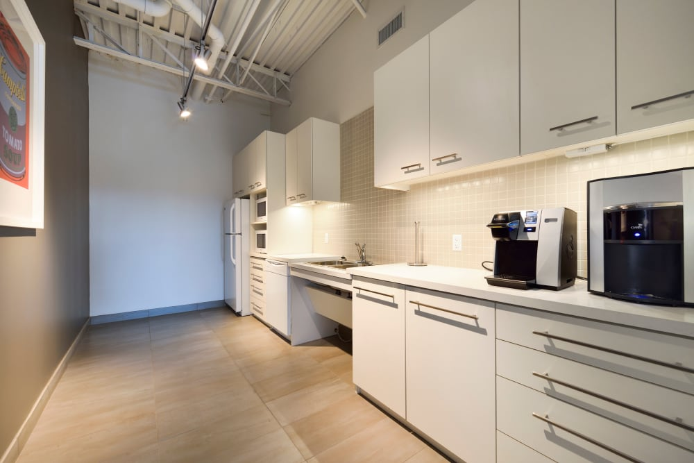 Common area kitchen at Apple Self Storage - Oakville in Oakville, Ontario